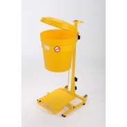 Mobile Pedal Operated Clinical Waste Bins 30 litre